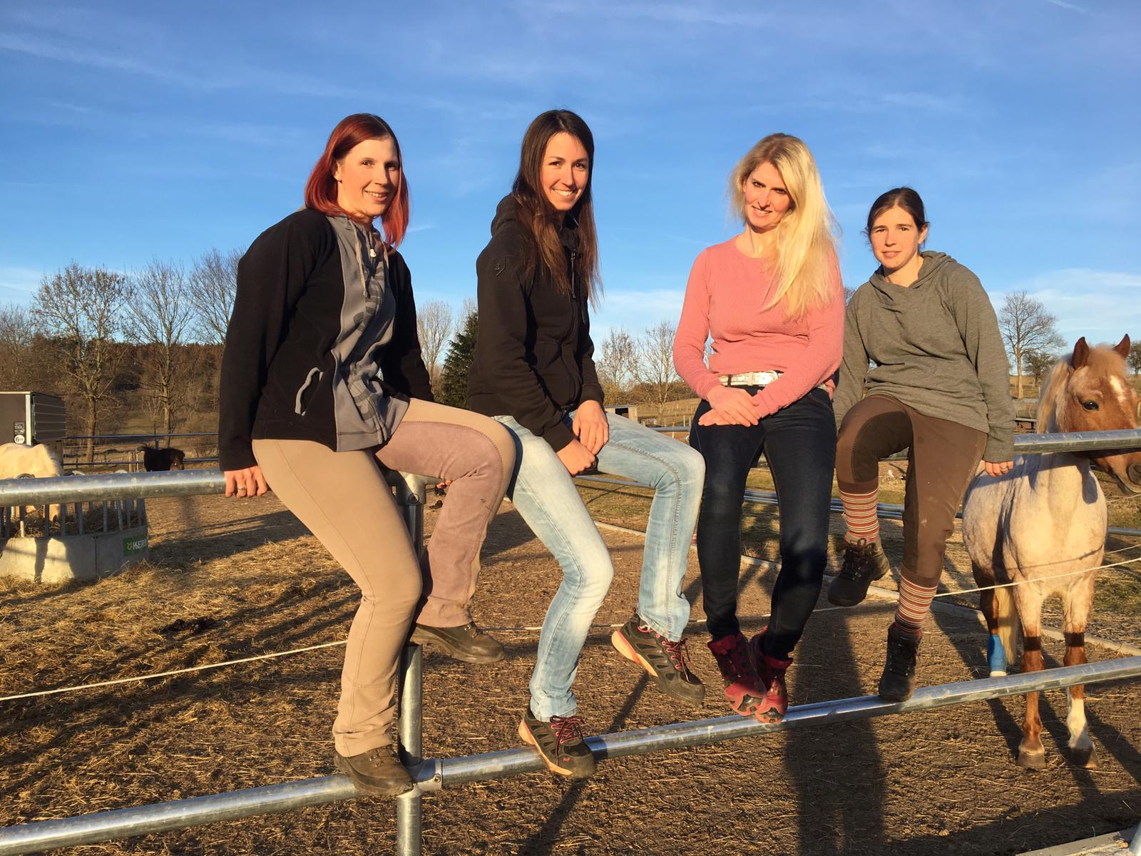 Das Team vom Reiterhof Wölferlingen